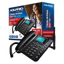Telefone Celular Rural Quadriband Aquário Ca-42 Dual Chip