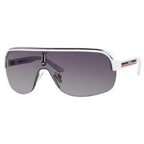 Gafas De Sol Carrera Topcar 1 Kc0/vk -lente Negro Marco Bla