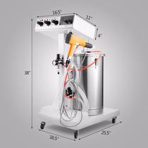 Sistema De Revestimiento En Polvo Equipo Electrostatico