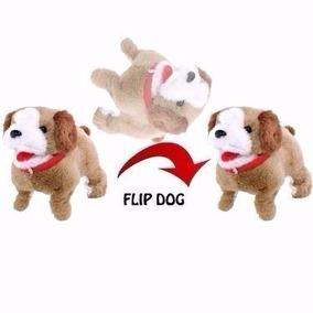 Cachorrinho Pelucia Puppy Anda Late E Da Cambalhotas