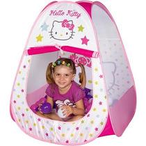 Barraca Infantil Toca Hello Kitty Com 60 Bolinhas Braskit
