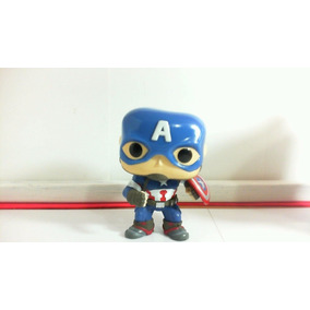 Dr.veneno Funko Pop Capitan America 10 Cm Leer