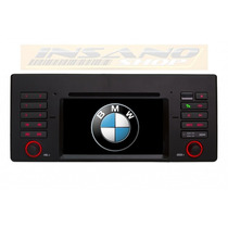 Kit Central Multimidia Dvd Gps 3g Bmw Serie 5 X5 E39 E53 Tv