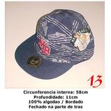 Bone Aba Reta - Mano Brasil - Marinho - Tam. 57cm
