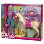 Muñeca Barbie Con Caballo Tawny