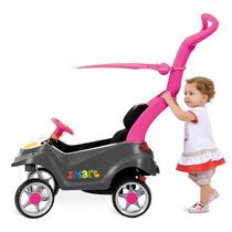 Carrinho Mini Veículo Smart Baby Comfort Rosa - Bandeirante