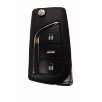 Chave Canivete Com Telecomando Toyota Corolla 2009 Até 2013