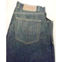 Pantalones Jeans Guess Azul Claro Bota Recta