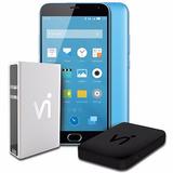 Vi Phonestation Meizu M2 Note Azul - 12x Sem Juros