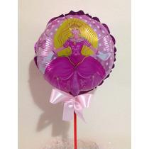 Balão Metalizado Centro Mesa Barbie 10 Unds.r$ 17,90