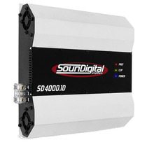 Módulo Amplificador Soundigital Sd4000.1d 1 Canal 4000watts