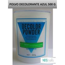 500 G De Polvo Decolorante Azul Decolor Powder