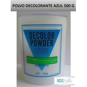 Un Polvo Decolorante De 500 Gr Azul Decolor Powder
