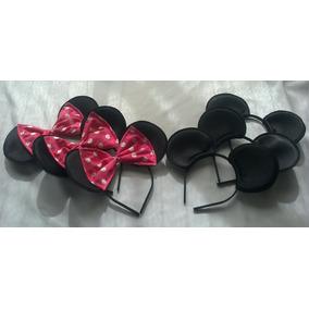 Vinchas Souvenirs De Mickey Y Minnie,por 5 Unidades