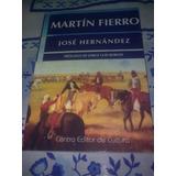 Martín Fierro, De José Hernández, Centro Editor De Cultura.