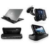 Dockstation + Soporte Gps + Para Motorola Atrix