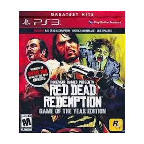 Juego Ps3 - Red Dead Redemption Game Of The Year Original