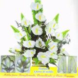 Moldes Para Flores Con Goma Eva - 2 Pares Cala Y Hoja