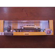 M2 Machines Auto-haulers 58 Chevrolet Ccf & 58 Impala Limo