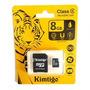 Micro Sd Kimtigo 8gb Cls4 Memoria Con Blister Mic8kimt