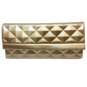 Bolsa De Mão Feminina Dourada
