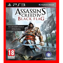 Assassins Creed 4 Black Flag - Ac4 - Dublado Pt Br Cód. Ps3