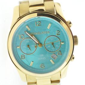 Relógio Michael Kors Mk5815 Turquesa - Original 12 X S juros. R  1.299 90. 12x  R  108 sem juros 43e7de59c9