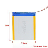 Bateria Pila Tablet China 3000 Mha Alta Capacidad