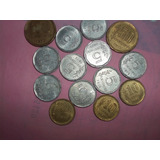Lote De Catorce (14) Monedas Antiguas !!! 123ventas.com.uy