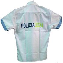 Conjunto Pantalon+camisa Policia Local