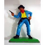 Cowboys Britains Deetail 1971 - 6 Cm - Cowboy Pintado A Mão