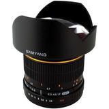 Lente Gran Angular Samyang 14mm F2.8 Para Sony Alpha Hm4