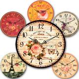 Reloj De Pared Vintage - 6 Modelos Disponibles - 22cm