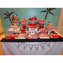 Candy Bar Cars Para 20 Espectacular!!!