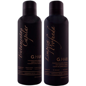 Ghair Inoar Escova Progressiva Marroquina 2x250ml # G Hair
