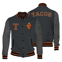 Tacos Varsity Jacket Mascara De Latex