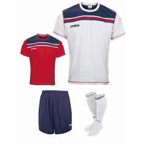 Uniforme Futbol Original Marca Joma 4 Piezas- Envio Gratis 9e3f6c5163794