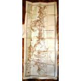 Patagonia Perito Moreno Gran Mapa Excursion 1897 Español