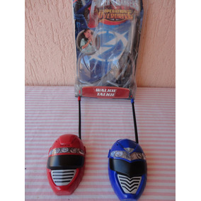 Walkie Talkies Dos Power Rangers Funcionando