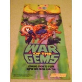 Nintendo Power- Poster Promocional De Marvel War Of The Gems