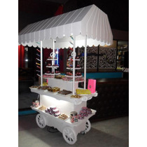 Candy Bar, Kiosco, Carro De Golosinas, Baby Shower, Panchos