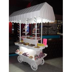 Candy Bar, Kiosco, Carro De Golosinas, Baby Shower, Panchos