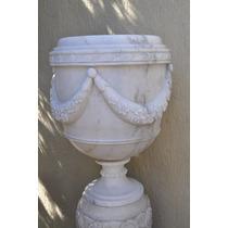 Vaso Taça Flores Par - Mármore - Vm-103 - Casa E Jardim