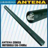 Antena Conica Portatil Motorola Vhf/uhf Pro5150/pro7150