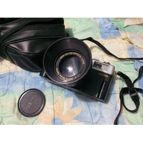 Cámara Canon 2000 Antigua + Flash Canon
