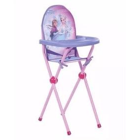 Cadeira Cadeirão De Papinha De Boneca Frozen Multibrink Mb00