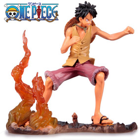 Boneco Luffy Do One Piece De Pvc 14cm - A Pronta Entrega