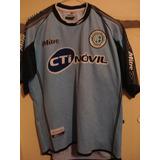 Camiseta Fútbol Belgrano Córdoba Mitre 2000 2001 T. M