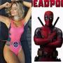 Fantasia Body Carnaval Deadpool Homem Aranha Feminino Adulto