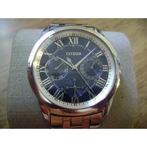 Elegante Reloj Citizen Quartz. W.r. 100m.